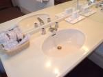 富士屋ホテルの西洋館の92号室の洗面台