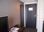 ホテルニューオータニの部屋の入口