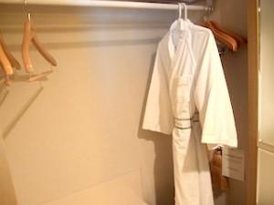 ホテルニューオータニの部屋のクローゼット内上部