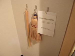 ホテルニューオータニの部屋のクローゼット内