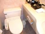 ホテルニューオータニの部屋のバスルーム、トイレ