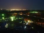 ヒルトン成田の部屋からの成田空港夜景