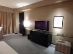 ハイアットリージェンシー大阪の部屋のテレビ部分