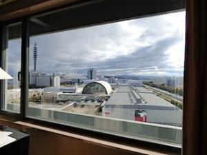 ハイアットリージェンシー大阪、部屋からみた景色