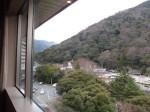 湯本富士屋ホテルの部屋からの景色
