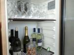 ホテルセトレ神戸・舞子のクラブラウンジ内のアルコール類、ワインやスパークリングワイン