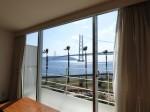 ホテルセトレ神戸・舞子の部屋から見た海
