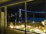 ホテルセトレ神戸・舞子のからみた明石海峡大橋の夜景