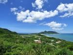 玉取崎展望台、北東の眺め、石垣島