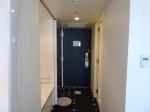 ヒルトン東京ベイ(千葉県浦安市)のセレブリオの部屋の入口部分