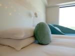 ヒルトン東京ベイ(千葉県浦安市)のセレブリオの部屋のベッドヘッド