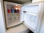 ヒルトン東京ベイ(千葉県浦安市)のセレブリオの部屋の冷蔵庫