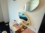 ヒルトン東京ベイ(千葉県浦安市)のセレブリオの部屋の化粧台部分