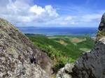 野底マーペー(野底岳)山頂から見た景色、石垣島