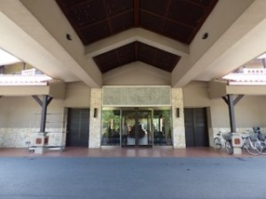 星野リゾートリゾナーレ西表島玄関