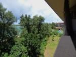 星野リゾートリゾナーレ西表島の部屋のベランダからみた景色