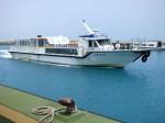 石垣島から各島へ行く離島船舶、ちゅらさん