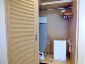 ホテルオリオンモトブリゾート&スパの部屋のクローゼット