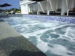 ホテルオリオンモトブリゾート&スパのインフィニティプールジャグジー