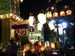 川越祭の夜