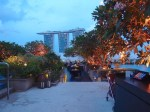 シンガポール、フラトンベイホテルの屋上プールとバー