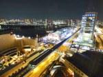 ホテルグランパシフィックLE DAIBAから夜景