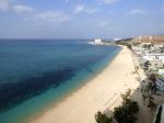 ホテルモントレ沖縄からみたタイガービーチ(The tiger beach front of Hotel Monterey Okinawa, Okinawa-ken)