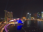 シンガポールマリーナベイの夜景(Night view of Marina bay, Singapore)