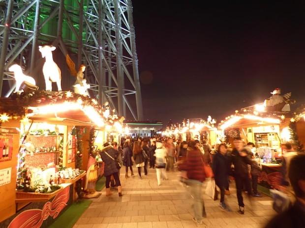 東京スカイツリー、スカイアリーナのイベント店(Shop at Sky arena of the Tokyo Sky Tree, Tokyo Japan)