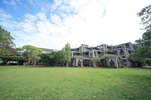 名護市庁舎全景(Nago city office whole view)