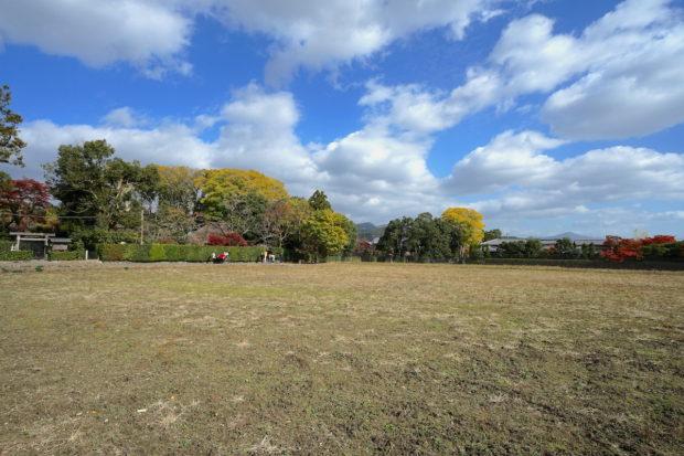 京都嵐山落柿舎周辺