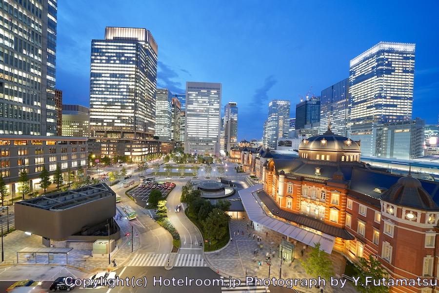 東京ステーションホテル夜景